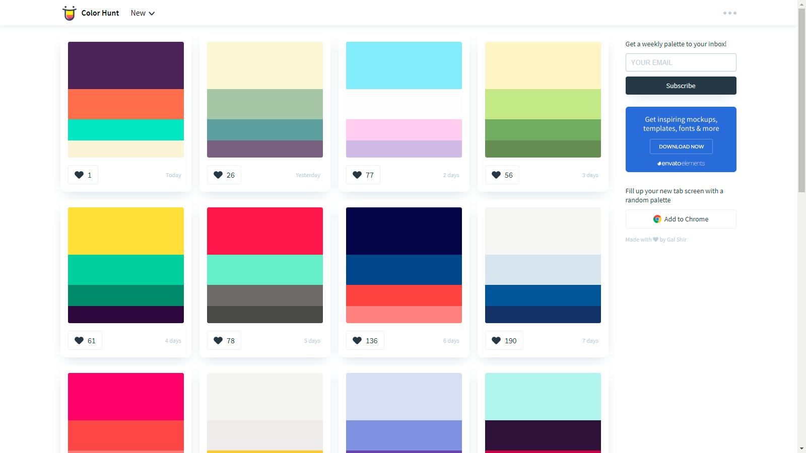 couleurs Color Hunt   Mille Myriades