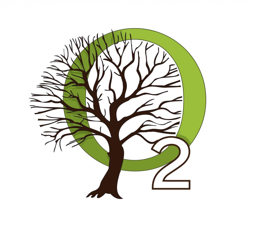 O2 l'Arbre - design logo