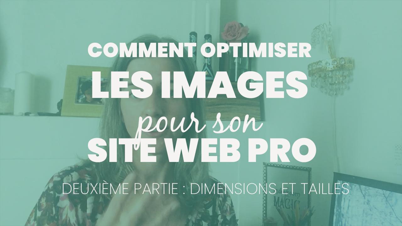 Dimension et taille de fichier – Optimiser vos images