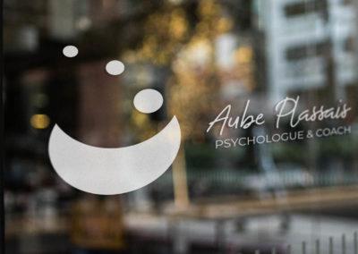 Aube Plassait Logo Vitrine