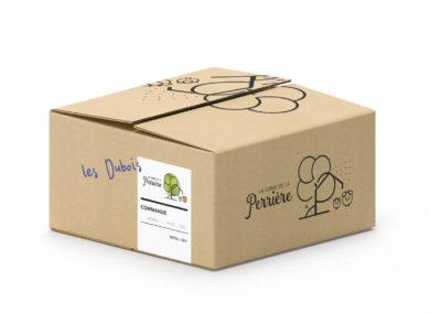 Carton de livraison - La ferme de la Perrière