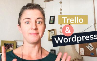 Planifier et programmer son contenu mensuel avec Trello & WordPress