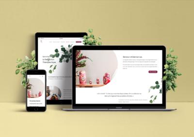 Mallory Durand Design Site Web