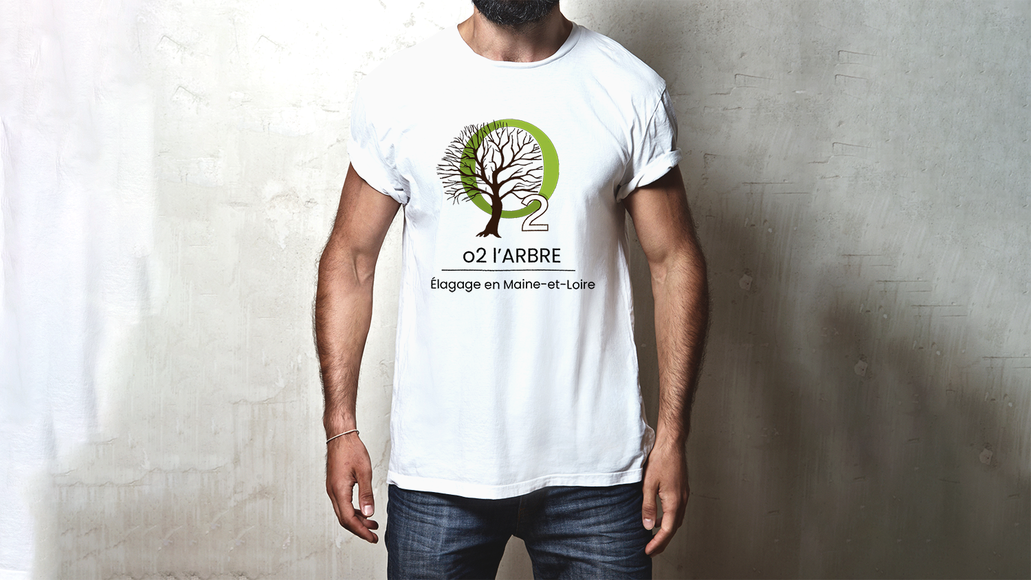O2 l'Arbre design t-shrit