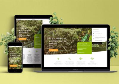 O2 l'Arbre design Web 2019